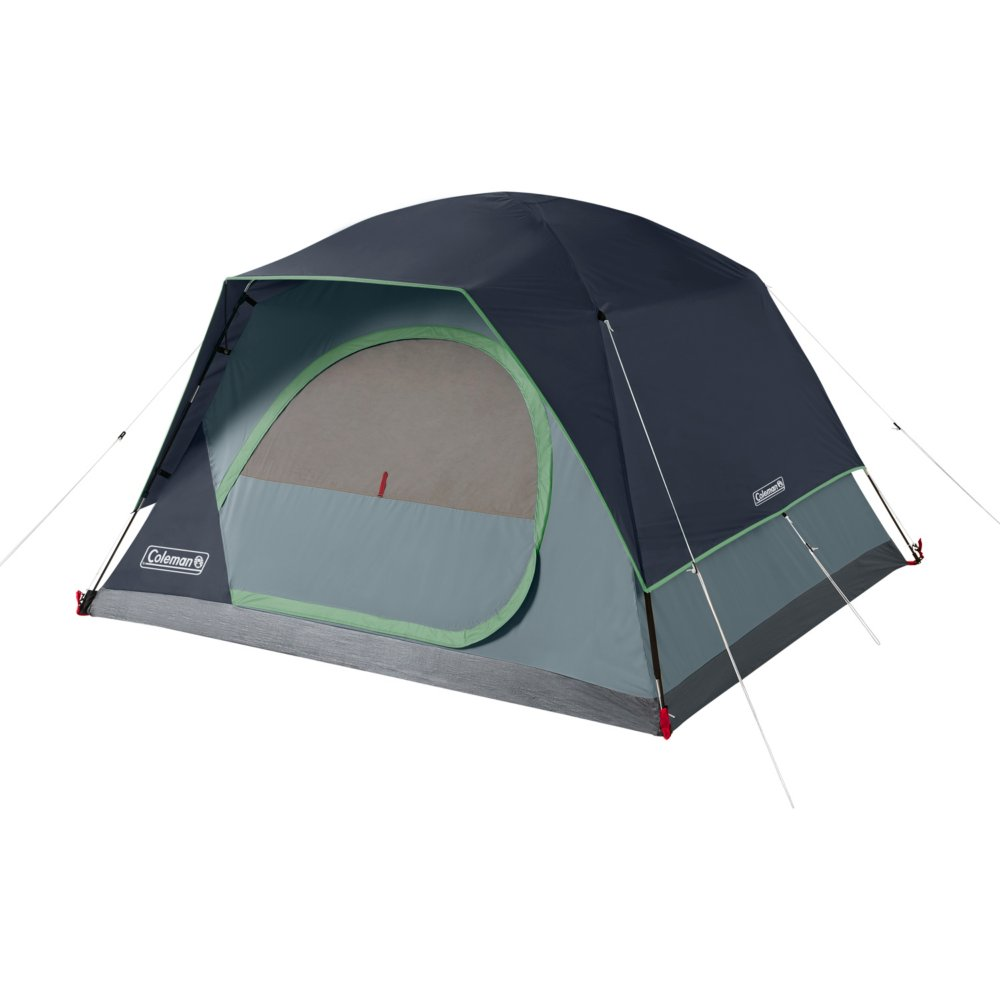 4-Person Skydome™ Camping Tent, Blue