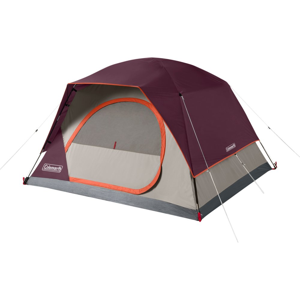 4-Person Skydome™ Camping Tent, Blackberry