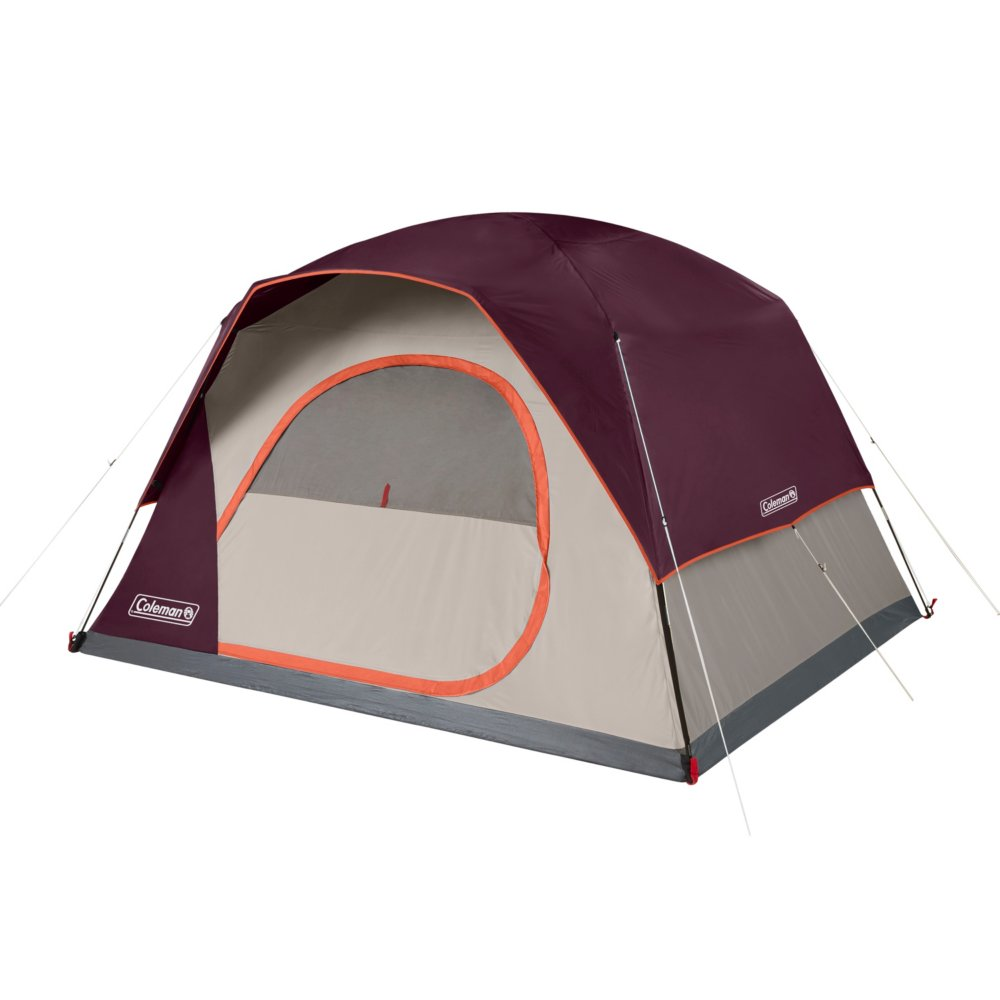6-Person Skydome™ Camping Tent, Blackberry