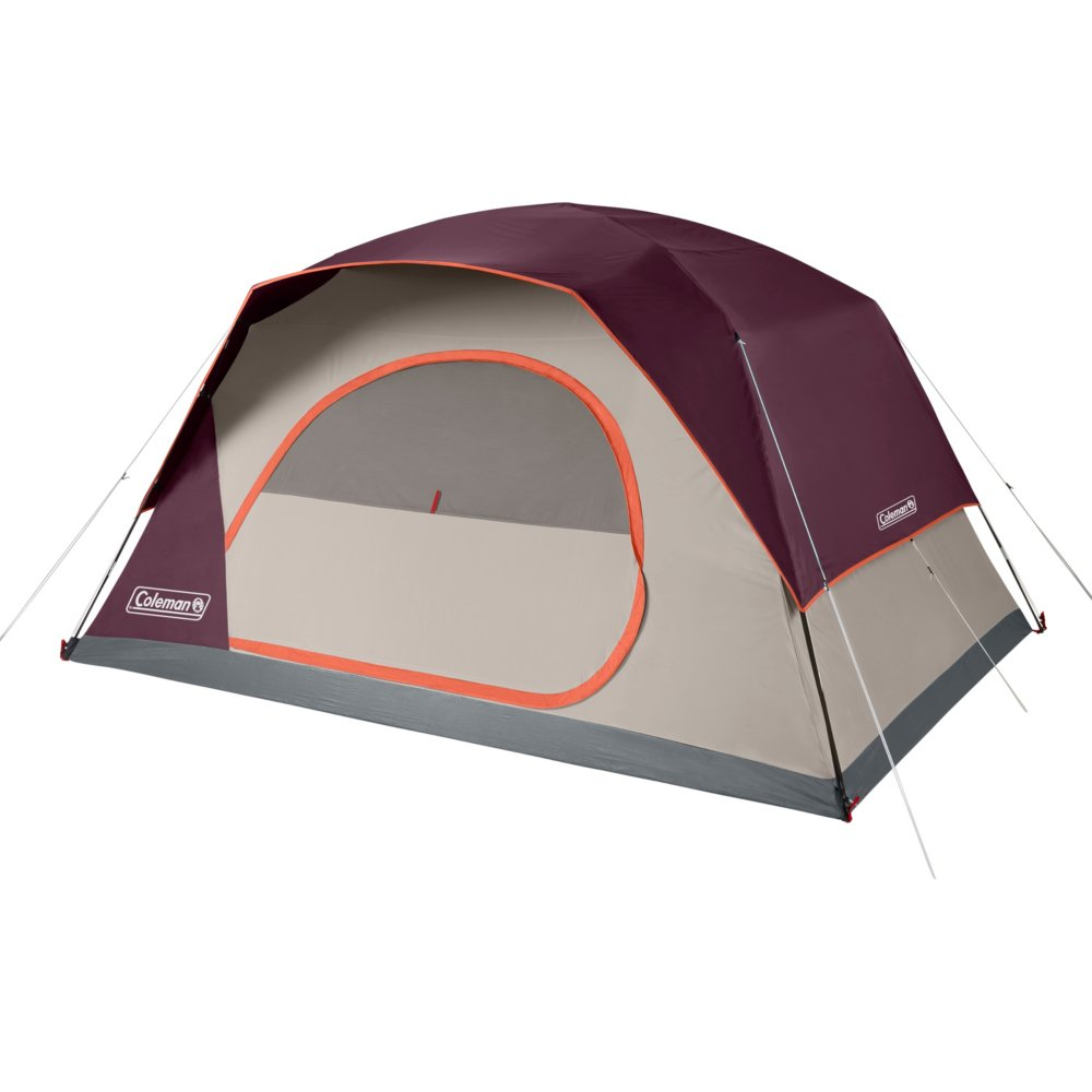 8-Person Skydome™ Camping Tent, Blackberry
