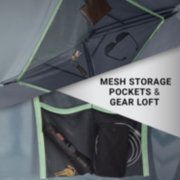 tent storage pockets and gear loft image number 5
