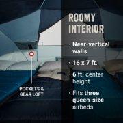 Tent interior displaying pocket storage image number 2