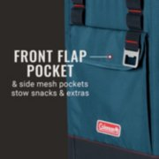 28-Can Portable Soft Cooler Backpack, Space Blue image number 2