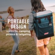 28-Can Portable Soft Cooler Backpack, Space Blue image number 5