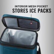 interior mesh pocket stores ice packs image number 5
