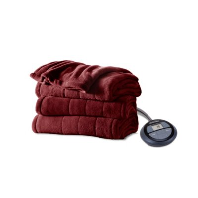 Microplush Heated Blanket with Digital Display Controller