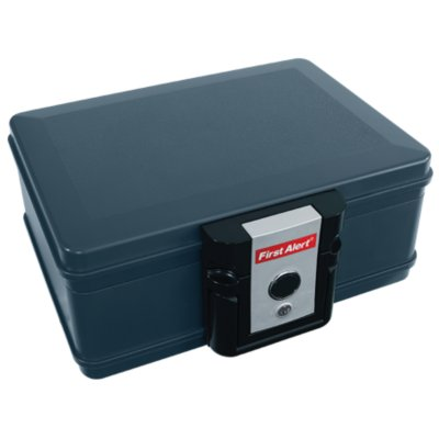 Water and Fire Protector File Chest, 0.17 Cubic Feet
