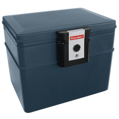 Water and Fire Protector File Chest, 0.62 Cubic Feet