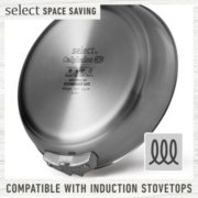Select by Calphalon™ Space-Saving 10-Piece Stainless Steel Cookware Set image number 6