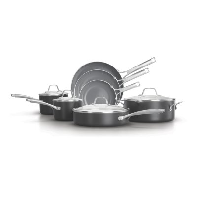 Calphalon Classic™ Oil-Infused Ceramic 11-Piece Cookware Set