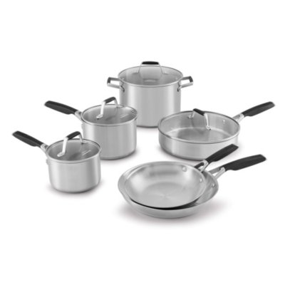 Select by Calphalon™ Stainless Steel Pots and Pans, 10-Piece Cookware Set