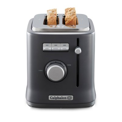 Calphalon IntelliCrisp™ 2-Slice Toaster, Grey
