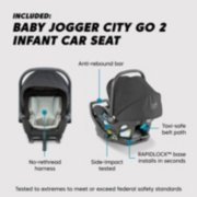 infant car seat feature highlight image number 2