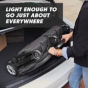 stroller is light enough to go just about everywhere image number 4