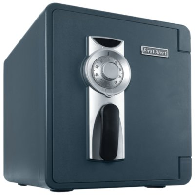 Waterproof and Fire-Resistant Bolt-Down Combination Safe, 0.94 Cubic Feet