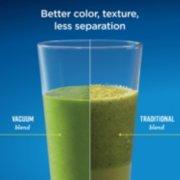 better color, texture, less separation, vacuum blend versus traditional blend image number 2