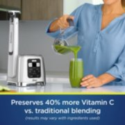 preserves 40% more vitamin c versus traditional blending results may vary with ingredients used image number 3
