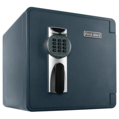 Waterproof and Fire-Resistant Bolt-Down Digital Safe, 1.3 Cubic Feet