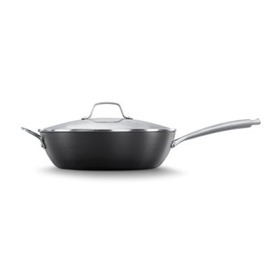 Calphalon Classic™ Hard-Anodized Nonstick 12-Inch Jumbo Fryer Pan with Cover