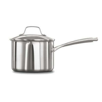 Calphalon Classic™ Stainless Steel 3.5-Quart Sauce Pan with Cover