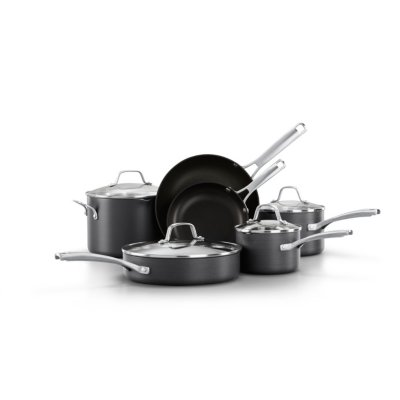 Calphalon Classic™ Hard-Anodized Nonstick 10-Piece Cookware Set