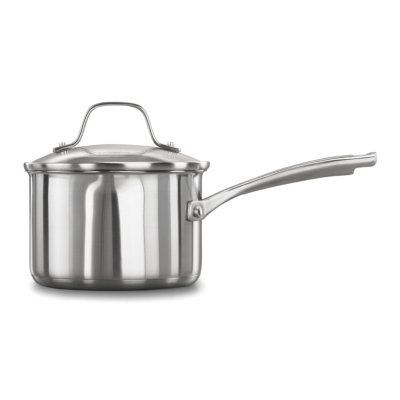 Calphalon Classic™ Stainless Steel 1.5-Quart Sauce Pan with Cover