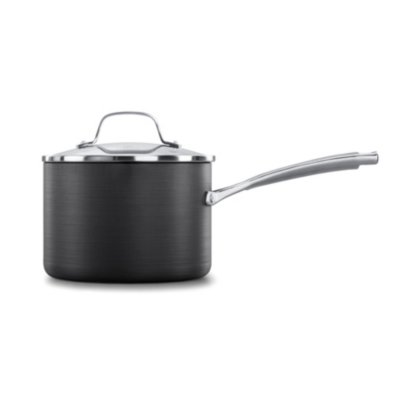 Calphalon Classic™ Hard-Anodized Nonstick 3.5-Quart Sauce Pan with Cover
