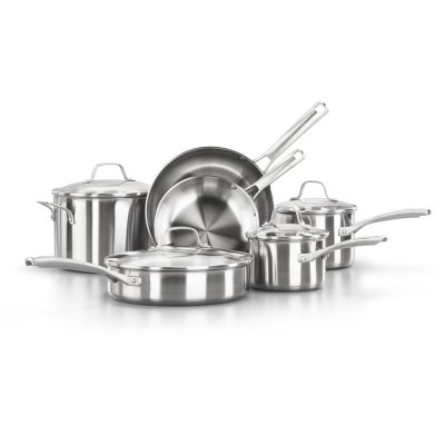 Calphalon Classic™ Stainless Steel 10-Piece Cookware Set