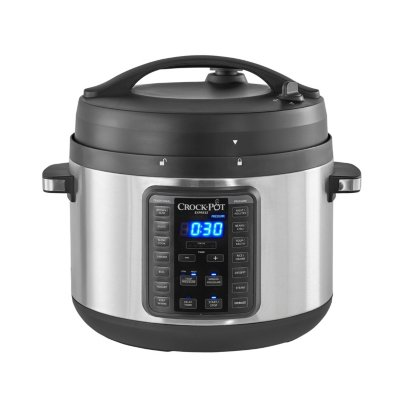 Crockpot™ 10-Qt. Express Crock Multi-Cooker with Easy Release Steam Dial, 10QT, Stainless Steel