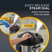 Crockpot™ 10-Qt. Express Crock Multi-Cooker with Easy Release Steam Dial, 10QT, Stainless Steel image number 2