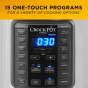 Crockpot™ 10-Qt. Express Crock Multi-Cooker with Easy Release Steam Dial, 10QT, Stainless Steel image number 3