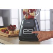 Oster® Master Series Blender with Texture Select Settings,  Blend-N-Go Cup and Glass Jar, Grey image number 6