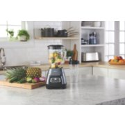 Oster® Master Series Blender with Texture Select Settings,  Blend-N-Go Cup and Glass Jar, Grey image number 2