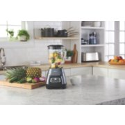 Oster® Master Series Blender with Texture Select Settings,  Blend-N-Go Cup and Glass Jar, Grey image number 3