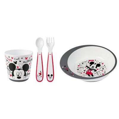 Mickey Mouse Infant 4 Piece Tableware Set