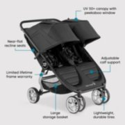 city mini® 2 double stroller image number 5