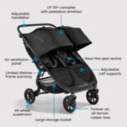 city mini® GT2 double stroller image number 6