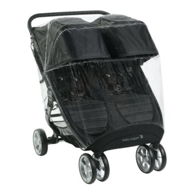 weather shield for city mini® 2 double and city mini® GT2 double strollers