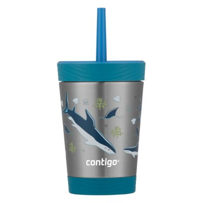 Kids Spill-Proof Stainless Steel Tumbler with Straw and THERMALOCK®, 12oz