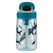 kids plastic water bottle with auto spout image number 3