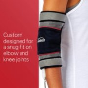 custom designed for a snug fit on elbow and knee joints image number 2