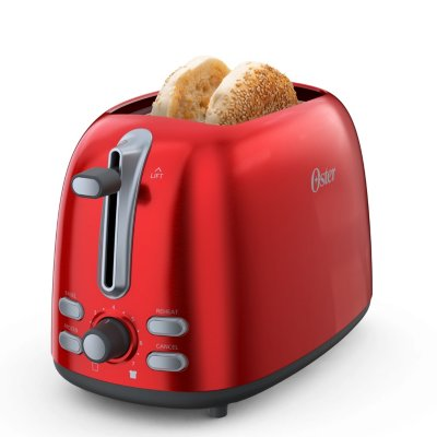 Oster® 2-Slice Toaster, Candy Apple Red