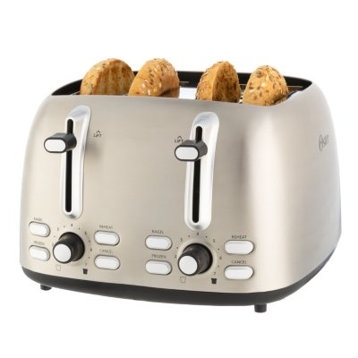 Oster® 4 Slice Toaster, Stainless Steel