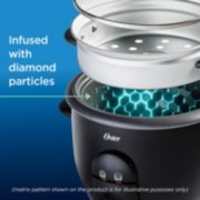 Oster® DiamondForce™ Nonstick 6-Cup Electric Rice Cooker image number 2