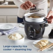 Oster® DiamondForce™ Nonstick 6-Cup Electric Rice Cooker image number 3