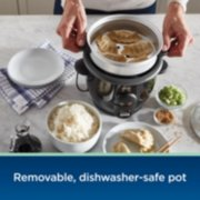 Oster® DiamondForce™ Nonstick 6-Cup Electric Rice Cooker image number 4
