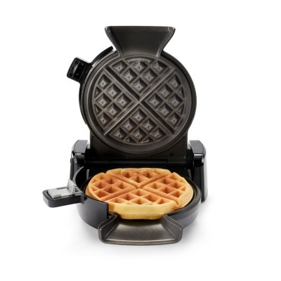 Oster® DiamondForce™ Nonstick Vertical Waffle Maker, Dark Metallic
