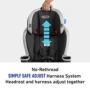 no-rethread simple safe adjust harness system headrest and harness adjust together image number 5