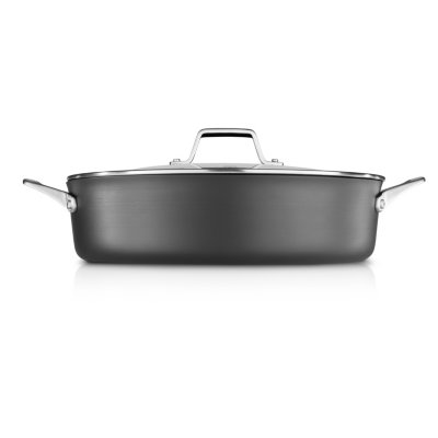 Calphalon Premier™ Hard-Anodized Nonstick 7-Quart Sauteuse & Cover
