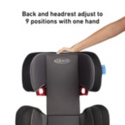 turbo booster stretch booster seat image number 1